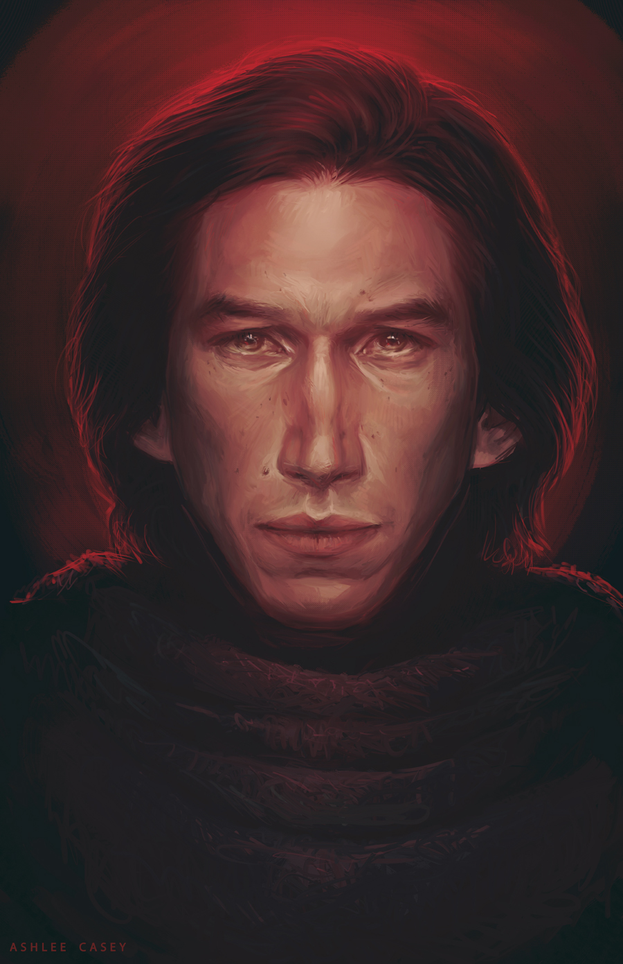 """Concrete Walls"" – Kylo Ren from The Force Awakens by Ashlee Casey"