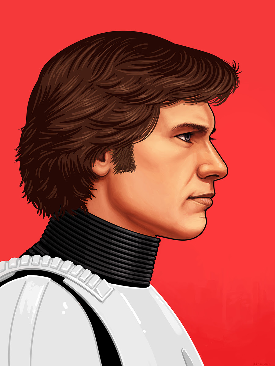 Han Solo by Mike Mitchell