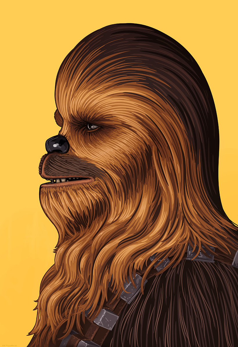Chewbacca by Mike Mitchell