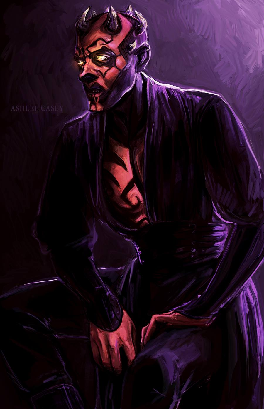 Darth Maul by Ashlee Casey